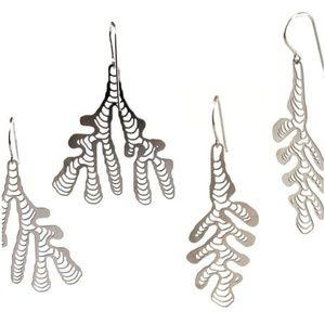Stainless Steel Earrings - 2 Pairs